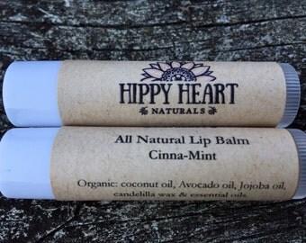 Cinnamint lip plumping lip butter