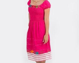 Pink sassy dress