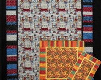 Easy Breezy Quilt Pattern - by Quilt Country - A Paper Quilt Pattern