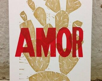 Amor con Golden Nopales_Card