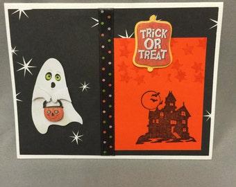 Handmade Halloween card