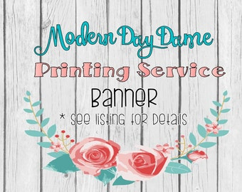 Printing Service - Banners