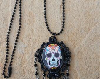 Sugar skull pendants