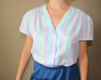 Vintage Striped Shirt