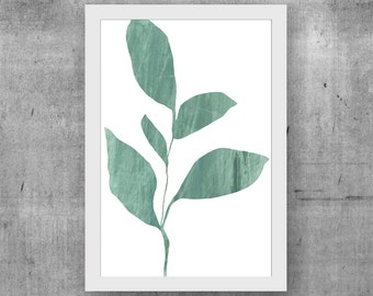 Contemporary Wall Art, Scandinavian Art Print, Minimalist Art, Botanical Art Print, Giclee Print, Wall Art, Poster, Home Decor, Wall Decor