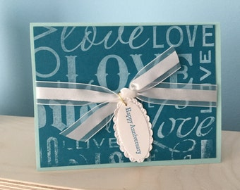 Stampin Up handmade card