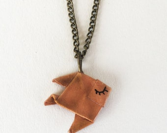 Collier poisson origami / origami
