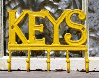 Key Rack/ Car Key Hook/ Cast Iron Key Hook/ Key Holder/ Key Organizer/ Front Entrance Hook/ Key Hooks/Leash Hooks/ Foyer Wall Decor