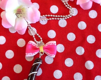 necklace candy stick