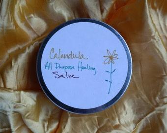 Homemade Calendula All Purpose Salve
