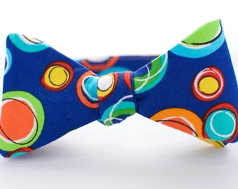 BOW TIE | baby, toddler, & boys | self-tie | bold blue