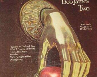 Vinyl Record, Bob James record album, Bob James Two vintage vinyl record