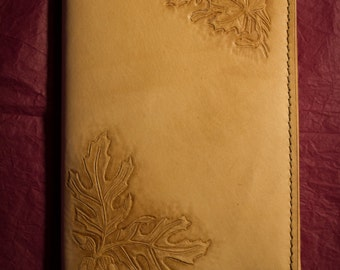 Rustic Tooled Leather Journal/Moleskine Cover (Made to Order)