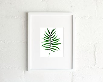 The Palm Frond Print