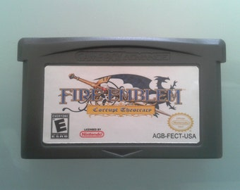 Fire Emblem - Corrupt Theocracy For gba, gba sp, ds, dsl (Fan Made Game)