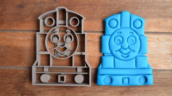 Sale Thomas The Tank Engine Train Cookie Cutter Fondant
