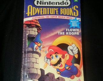 Nintendo Adventure Books #8, Nintendo Adventure Books Flown the Coop, Super Mario World, Choose your own Adventure, Mario Adventure Book