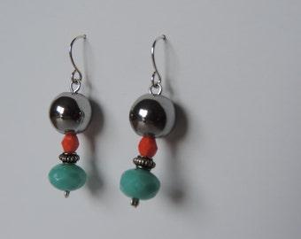 Beads earrings #1