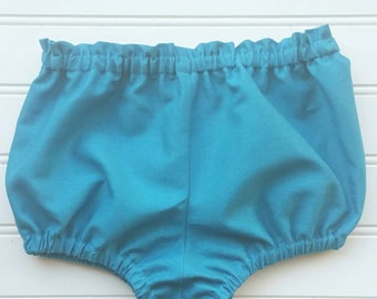 Turquoise bloomers, child bloomers