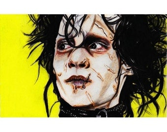 Edward Scissorhands (Johnny Depp) Print