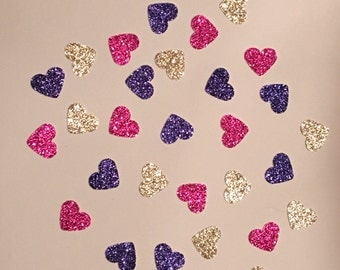 225 Pink Purple and Gold Confetti Glitter Confetti Shower Confetti Baby Confetti Wedding Confetti Birthday Confetti Bachelorette Party
