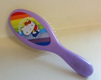 Vintage 1980s Hello Kitty Hairbrush