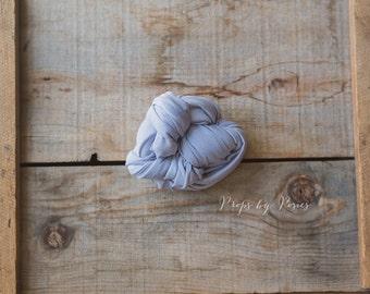Newborn Wrap, Newborn Prop - Periwinkle, Jersey Knit Stretch Wrap