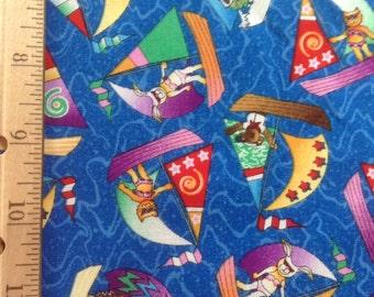 Avlyn Fabrics    Fun in the Sun-Sail Away