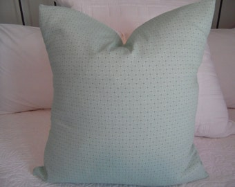 Pale Green Diamond Pattern Pillow Cover.18x18. Green Pillow Cover.Slip covers. Home Decor Pillow Covers
