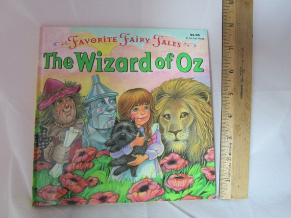 Favorite Fairy Tales Wizard of Oz Book and Puzzle