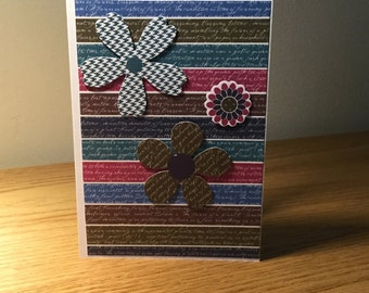 Handmade Cards - All Occasions - Floral Design - A04