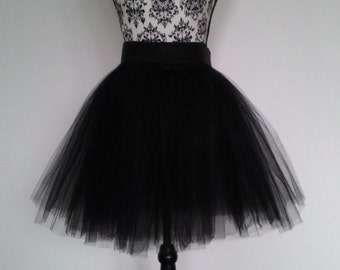 "Handmade adult tulle skirt/tutu 50 cm/20"" lenght, many different colours"