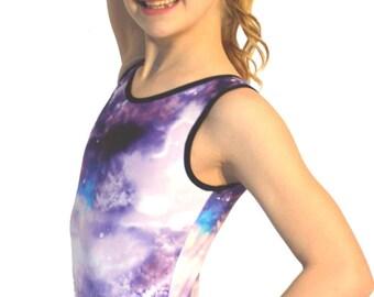 Gymnastics Leotard Galactic Purple