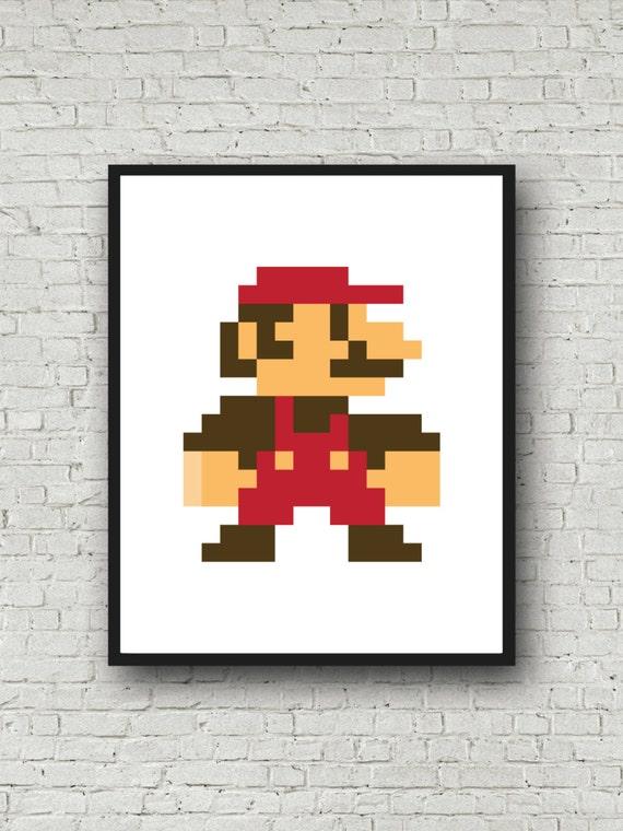 pixel art impression