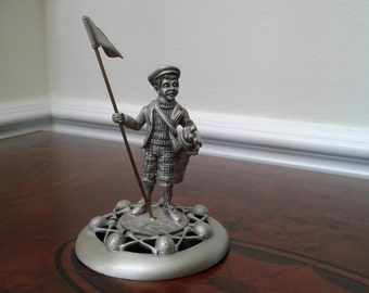 Fort Pewter Golf Player Figurine