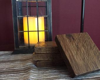 Rustic Pallet Wood Coasters