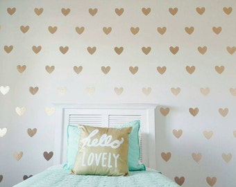 Heart Wall Decals- Multiple sizes