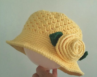 Little girl sun hat