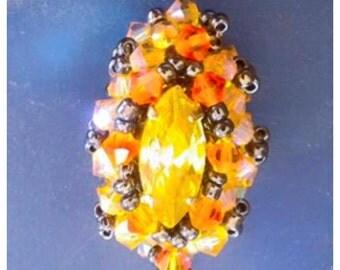 Ring or pendant swaroski