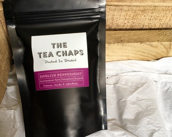 English Peppermint - 25g Loose Leaf Tea- The Tea Chaps