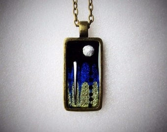 Jewel-array miniature (pendant)