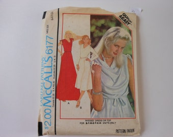Vintage 70's McCall's Carefree Pattern 6177
