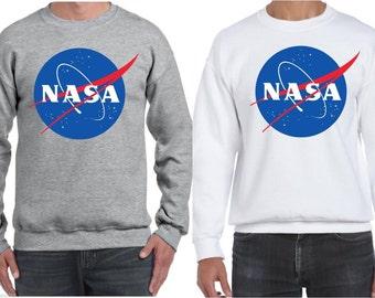 Nasa jumper sweatshirt nerd geek !!