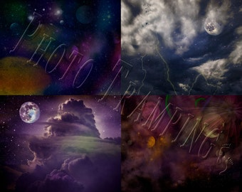 Fantasy Night Skies