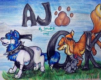 Animal jam/oc/fursona commissions