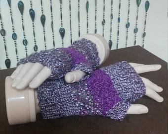 Fingerless Driving Gloves