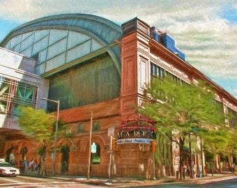 Reading Terminal, Philadelphia, Reading Terminal Market, Urban Art, Cityscape, Fine Art Print, Philly, Historic Building, Architecture, City