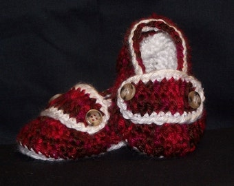 Baby Slip-on Loafer style Booties