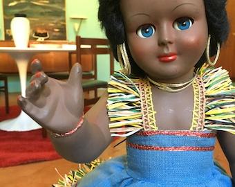 Bambola bachelite anni '50