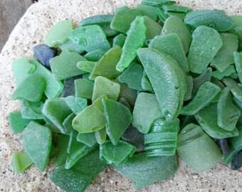 Genuine Sea Glass 1 pound Chips & Chunks